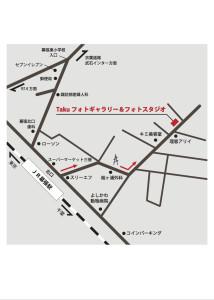 Takuフォトギャラリー地図-