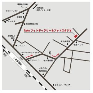 Takuフォトギャラリー地図
